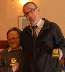 Ian Preston and Simon Temme, 2010 Consulting Doubles GP joint runners-up